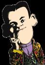 caricatura El Gran Lafayette (The Great Lafayette)