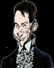 caricatura Lance Burton