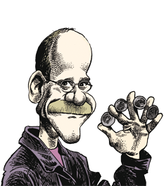 caricatura Michael Ammar
