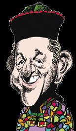 caricatura Paul Daniels