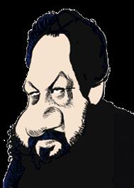 caricatura Ricky Jay