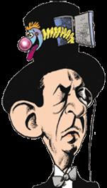 caricatura Richard Cardini