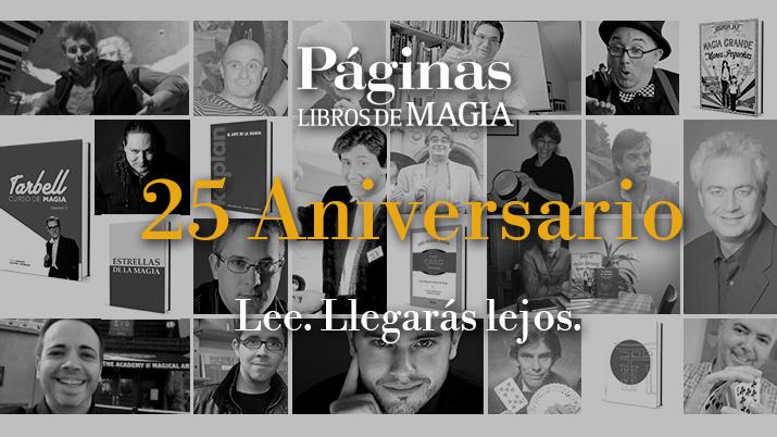 anuncio conmemoración veinte aniversario