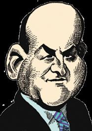 caricatura Paul Curry