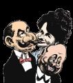 caricatura Le Roy, Talma y Bosco (Le Roy, Talma & Bosco)