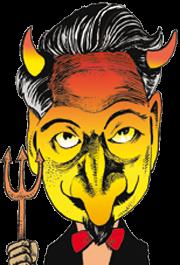 caricatura Dante