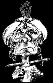 caricatura Daja-Tarto
