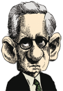 caricatura Al Baker