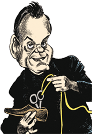 caricatura Gaetan Bloom