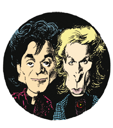 caricatura Siegfried and Roy